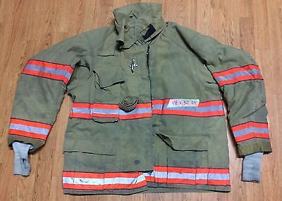 Cairns RS1 Firefighter Turnout/Bunker Coat 48 Chest x 32 Length - 2005