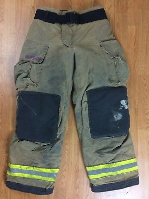 Globe Gxtreme Firefighter Bunker Turnout Pants 34 x 32  2010