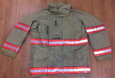 Cairns RS1 Firefighter Turnout/Bunker Coat 44 Chest x 32 Length '05