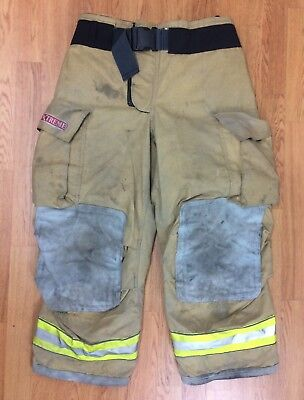 Globe Gxtreme Firefighter Bunker Turnout Pants 36 x 28 '05