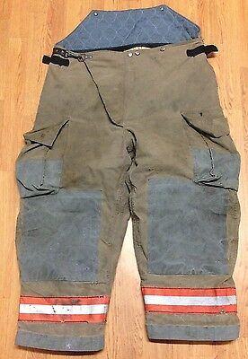 Globe Firefighter Bunker Turnout Pants - 44 x 26