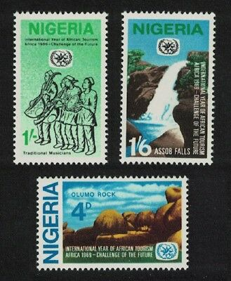Nigeria International Year of African Tourism 3v SG#237-239