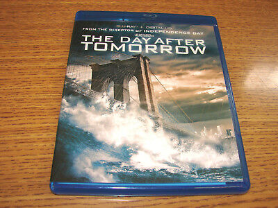 The Day After Tomorrow (Blu-ray Disc, 2015) Quick and Free Shipping!!!!!!