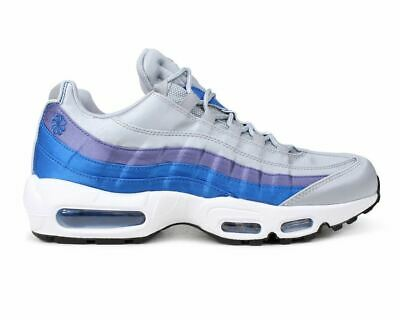 best authentic d0012 2a9fe Mens Nike Air Max 95 SE AJ2018 001 Gym Running Shoes Trainers Wolf Grey Blue