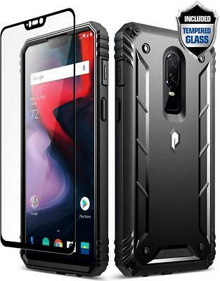 Poetic Revolution Full-Body Rugged Heavy Duty Case For OnePlus 6 (2018) Black