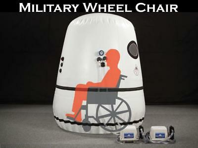 Vertical Wheel Chair Hyperbaric Oxygen Chamber 60 in Military Best Customer Svc