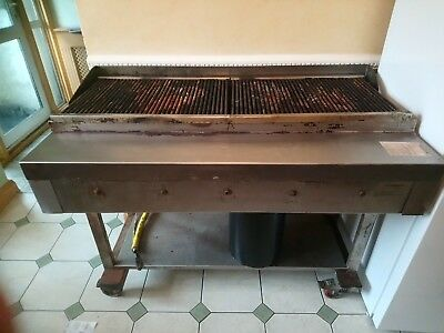 5 Burner Gas Chargrill BBQ Charcoal Grill Heavy Duty for Commercial Use