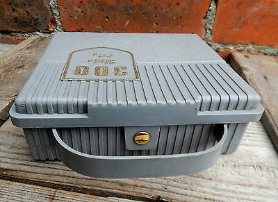 Vintage Storage Carry Case '300' for Photographic Photo Slides 35mm Mid Century