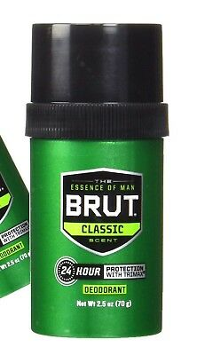 Brut Deodorant Stick with Trimax 2.5 oz