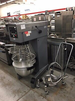 Varimixer W80 - Late Model 80 Qt. Mixer - Power Bowl Lift, Accessories - Refurb.