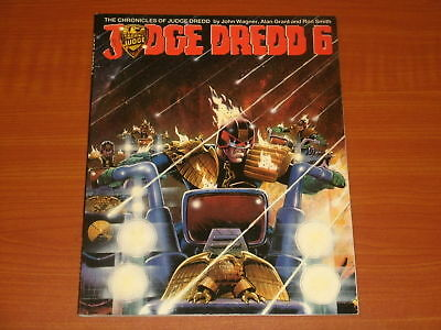 Titan Books 'The Chronicles Of Judge Dredd'  JUDGE DREDD 6 By Wagner,Grant,Smith