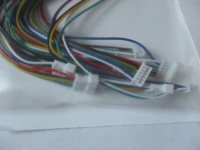 NCE # 5240311 Wire Harness Disconect Set 6 Pin 4 Pack