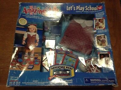 Amazing Ally Let's Play School Set
