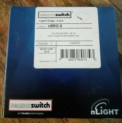 Acuity Sensor Switch (nBRG 8) nLight Bridge ** New In Box, Free Shipping **