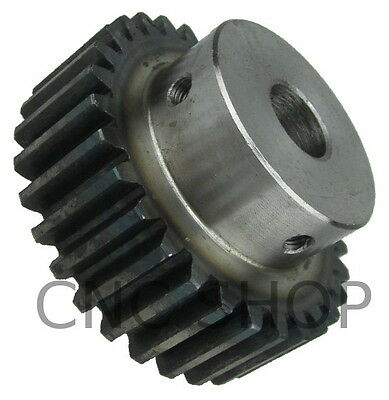 MOD 2.0 - 30T SPUR GEAR - 12mm BORE with SET SCREW RACK AND PINION & CNC MACHINE