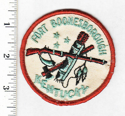 Kentucky..Fort Boonesborough Embroidered Patch ...Scarce......#207t