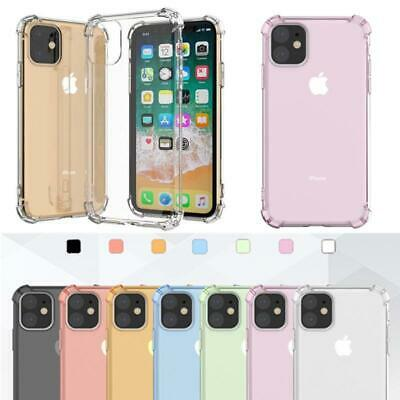 Shockproof Gel Clear Slim Case Cover for Apple iPhone XS Max 8 7 Plus XR 6S 5 SE