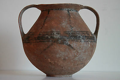 EARLY ANCIENT GREEK  POTTERY KANTHAROS 5th CENTURY BC