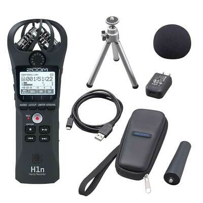 Zoom H1n Audio Recorder and APH-1n Accessory Pack