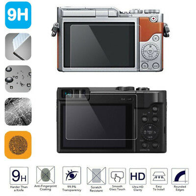 Pro Tempered Glass Screen Protector for Panasonic LUMIX LX100 GF10 GF9 Camera