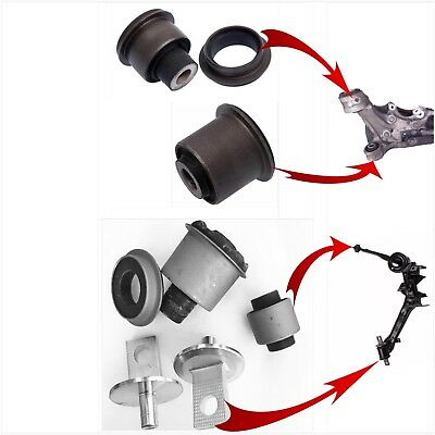 Rear Trailing Arm Bushings & Knuckle For 2006-2011 Honda Civic Complet 1Side