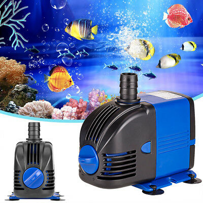 Submersible Water Pump for Fish Tank Aquarium Pond Fountain Small Water Feature