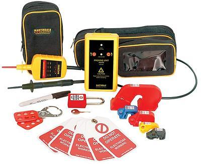 LOCK OUT KIT + VIAND PROVING UNIT Test Continuity, lock out kit + viand