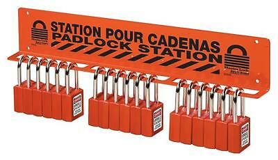 HEAVY DUTY PADLOCK STATION Personal Protection & Site Safety Lockout