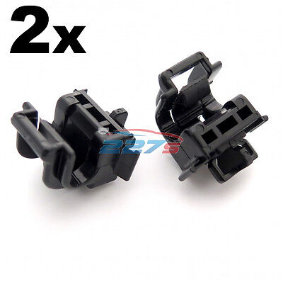 2x Bonnet Support Stay Rod Holder Clips- some models of Honda Accord, CRV & NSX