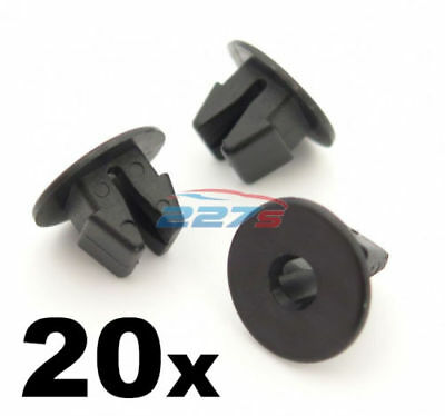 20x Plastic Screw Grommets for Lexus Sill Moulding Bumpers Wheel Arch Mudguards
