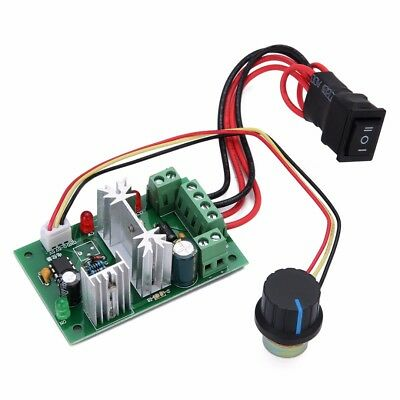6-30V DC Motor Speed Controller Reversible PWM Forward Reverse Switch