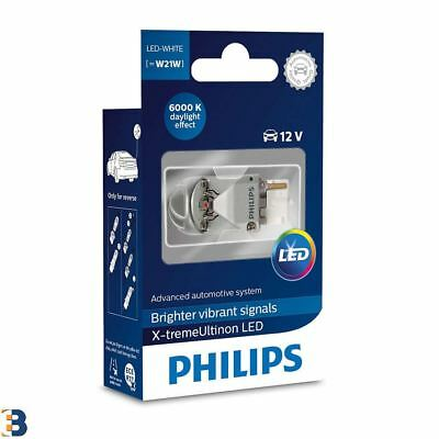 Philips X-treme Ultinon W21W T20 Signal Bulb daylight effect 12795X1 Single