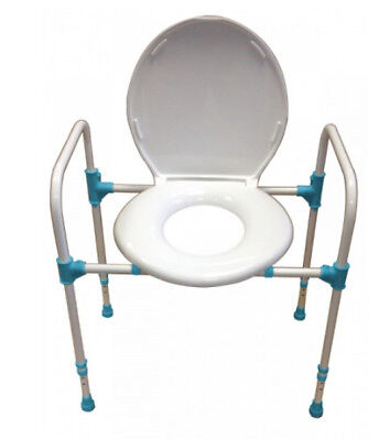 Deluxe Big John Bariatric Commode and Toilet Aid Mobility Disability Aid Elderly