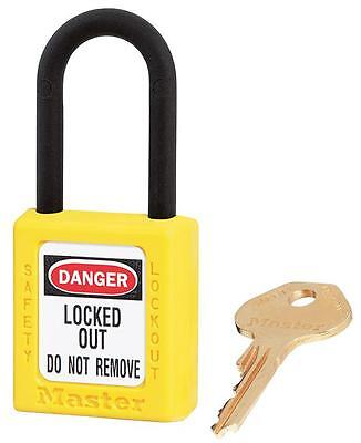 NON CONDUCTIVE LOCKOUT PADLOCK YELLOW Security Locks