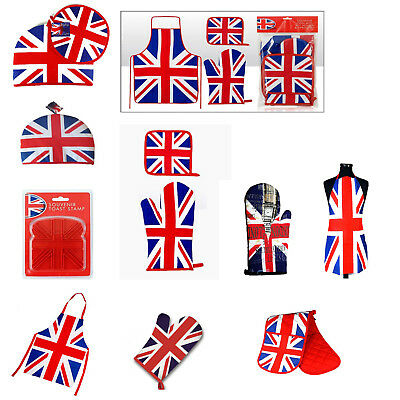 London England Union Jack Oven Mitt Aprons Tea Cosy Toast Stamp Perfect Souvenir