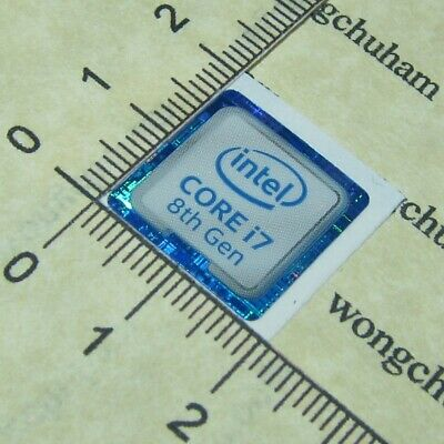8th Generation 10x intel CORE i5 8th Gen Sticker 18mm x 18mm
