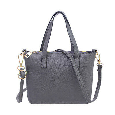 New Fashion Women Leather Messenger Shoulder Handbag Large Tote Ladies Purse Bag