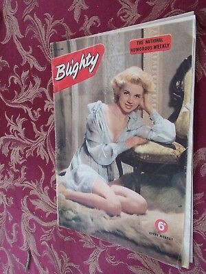 5 x Vintage Blighty Magazines. July 1955. Humour, Jokes & Pin-Ups.