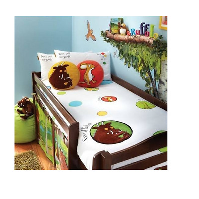 Brand new Izziwotnot Gruffalo duvet cover and pillowcase set single bed size
