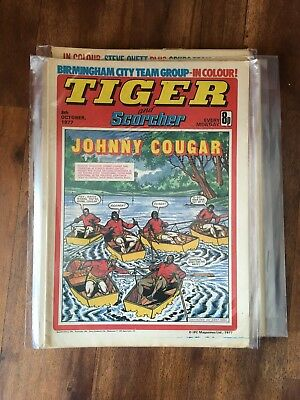 Tiger and Scorcher Comic 1977 45 Issues Skid Solo