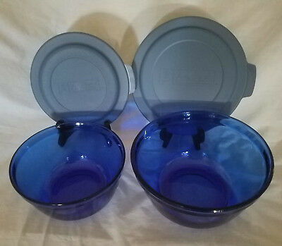"Anchor Hocking ""Essentials"" Set of Two Mixing Bowls with Anchor Hocking Lids"