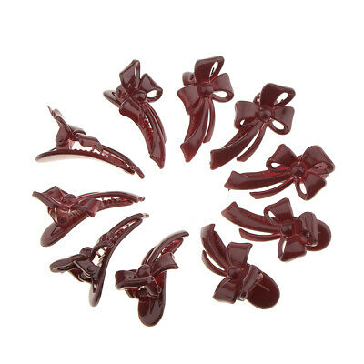 10 Pcs Baby Girls Hair Bows Clips Hairpin Barrettes for Infant Toddlers
