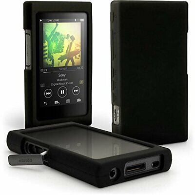 ProVisionTools Silicone Skin Case Cover for Sony Walkman (Black)