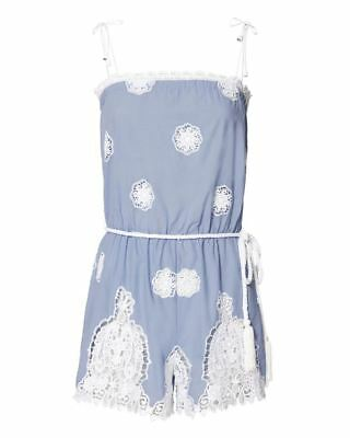 1ebad9697ebd MIGUELINA PEGGY VERSAILLES Lace Romper Small -  184.45