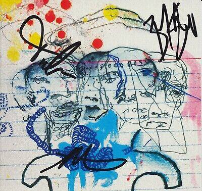 Cage The Elephant Signed Cd Booklet