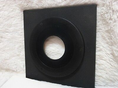 Sinar Lens Board. Copal #1 41.6mm. Condition  see pictures excellent +