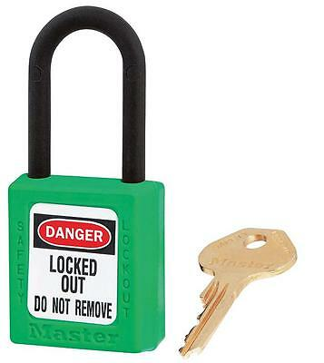 NON CONDUCTIVE LOCKOUT PADLOCK GREEN Security Locks