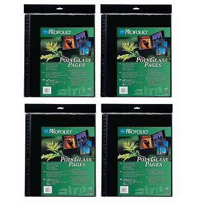 "Itoya Art Profolio Portrait Polyglass Pages (17"" x 22"") (4 Pack)"