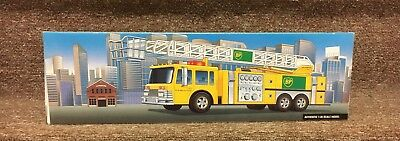 BP Aerial Tower Fire Truck 1999 Collector's Edition NIB