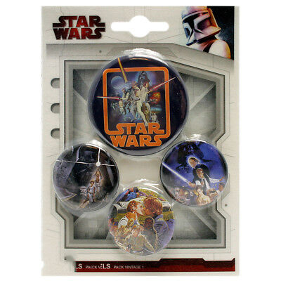 Star Wars Vintage Button Set